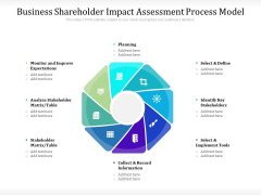 Business Shareholder Impact Assessment Process Model Ppt PowerPoint Presentation Icon Aids PDF