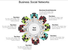 Business Social Networks Ppt PowerPoint Presentation Layouts Influencers Cpb