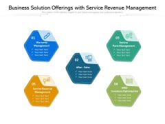 Business Solution Offerings With Service Revenue Management Ppt PowerPoint Presentation File Ideas PDF