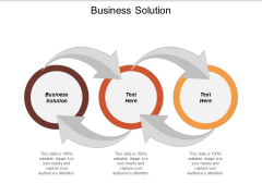 Business Solution Ppt PowerPoint Presentation Infographic Template Infographic Template