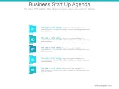 Business Start Up Agenda Ppt PowerPoint Presentation Templates