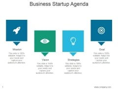 Business Startup Agenda Ppt PowerPoint Presentation Template