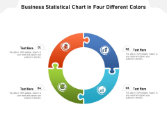Business Statistical Chart In Four Different Colors Ppt PowerPoint Presentation Icon Layouts PDF