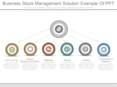 Business Stock Management Solution Example Of Ppt