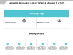 Business Strategic Goals Planning Mission And Vision Ppt PowerPoint Presentation Gallery Themes