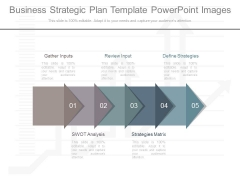 Business Strategic Plan Template Powerpoint Images