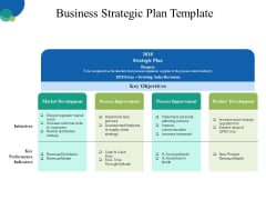 Business Strategic Plan Template Ppt PowerPoint Presentation Outline Design Templates