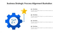 Business Strategic Process Alignment Illustration Ppt PowerPoint Presentation Icon Backgrounds PDF