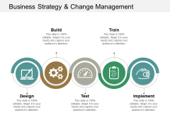 Business Strategy And Change Management Ppt Powerpoint Presentation Pictures Structure