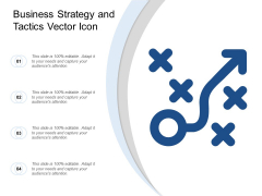 Business Strategy And Tactics Vector Icon Ppt Powerpoint Presentation Graphics