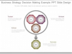 Business Strategy Decision Making Example Ppt Slide Design