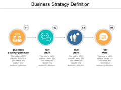 Business Strategy Definition Ppt PowerPoint Presentation Outline Images Cpb