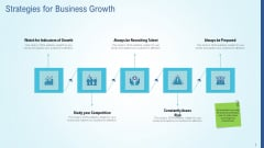 Business Strategy Development Process Strategies For Business Growth Formats PDF