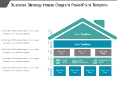 Business Strategy Free PowerPoint Diagram