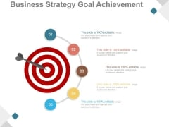 Business Strategy Goal Achievement Ppt PowerPoint Presentation Picture
