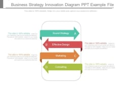 Business Strategy Innovation Diagram Ppt Example File