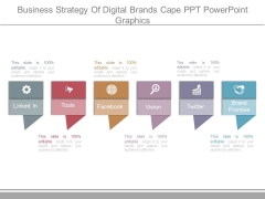 Business Strategy Of Digital Brands Cape Ppt Powerpoint Graphics