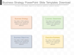 Business Strategy Powerpoint Slide Templates Download
