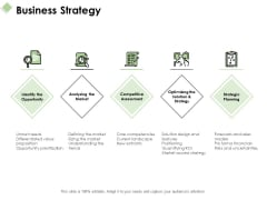Business Strategy Ppt PowerPoint Presentation Layouts Graphics Template