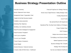 Business Strategy Presentation Outline Ppt PowerPoint Presentation File Introduction
