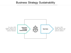 Business Strategy Sustainability Ppt PowerPoint Presentation Styles Slideshow Cpb Pdf
