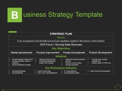 Business Strategy Template Ppt PowerPoint Presentation File Slideshow