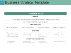 Business Strategy Template Ppt PowerPoint Presentation Portfolio Sample