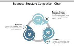 Business Structure Comparison Chart Ppt PowerPoint Presentation Infographic Template Vector