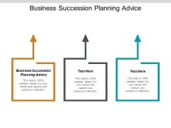 Business Succession Planning Advice Ppt PowerPoint Presentation Model Graphics Design Cpb