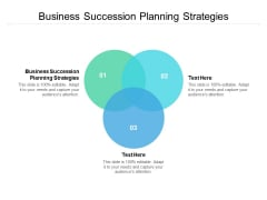 business succession planning strategies ppt powerpoint presentation slides show cpb