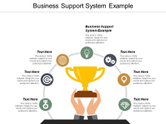 Business Support System Example Ppt PowerPoint Presentation Layouts Example Introduction Cpb