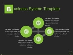 Business System Template Ppt PowerPoint Presentation Styles Example File