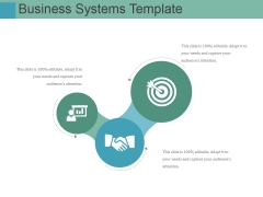 Business Systems Template Ppt PowerPoint Presentation Slides Demonstration