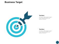 Business Target Arrows Ppt PowerPoint Presentation Infographics Brochure