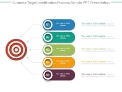 Business Target Identification Process Sample Ppt Presentation