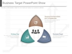Business Target Powerpoint Show