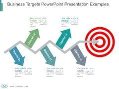 Business Targets Powerpoint Presentation Examples