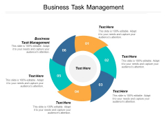 Business Task Management Ppt PowerPoint Presentation Infographic Template Slide Portrait