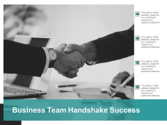 Business Team Handshake Success Ppt PowerPoint Presentation Slides Clipart