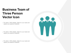 Business Team Of Three Person Vector Icon Ppt PowerPoint Presentation Styles Inspiration