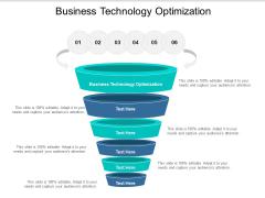 Business Technology Optimization Ppt PowerPoint Presentation Professional Smartart Cpb