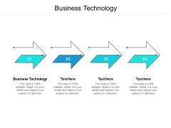 Business Technology Ppt PowerPoint Presentation Deck Cpb