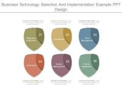 Business Technology Selection And Implementation Example Ppt Design