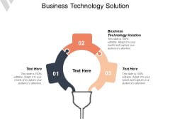 Business Technology Solution Ppt PowerPoint Presentation Infographic Template Design Inspiration Cpb