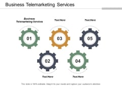 Business Telemarketing Services Ppt Powerpoint Presentation Layouts Aids Cpb