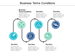 Business Terms Conditions Ppt PowerPoint Presentation Show Gridlines Cpb
