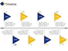Business Timeline Ppt Icon Shapes PDF