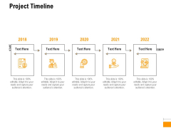Business To Business Advertising Proposal Project Timeline Designs PDF