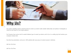 Business To Business Advertising Proposal Why Us Rules PDF