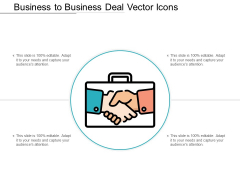 Business To Business Deal Vector Icons Ppt PowerPoint Presentation Summary Professional